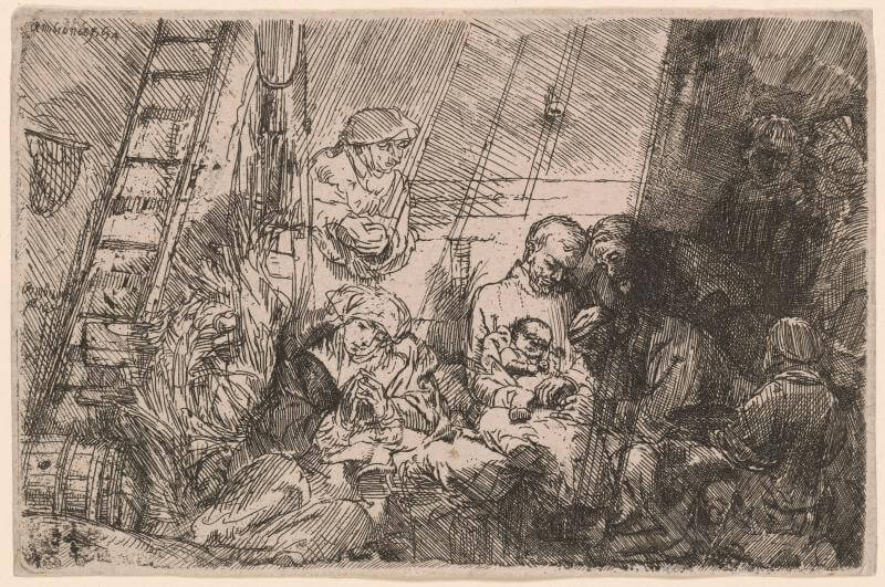 The Circumcision, 1640 by Rembrandt