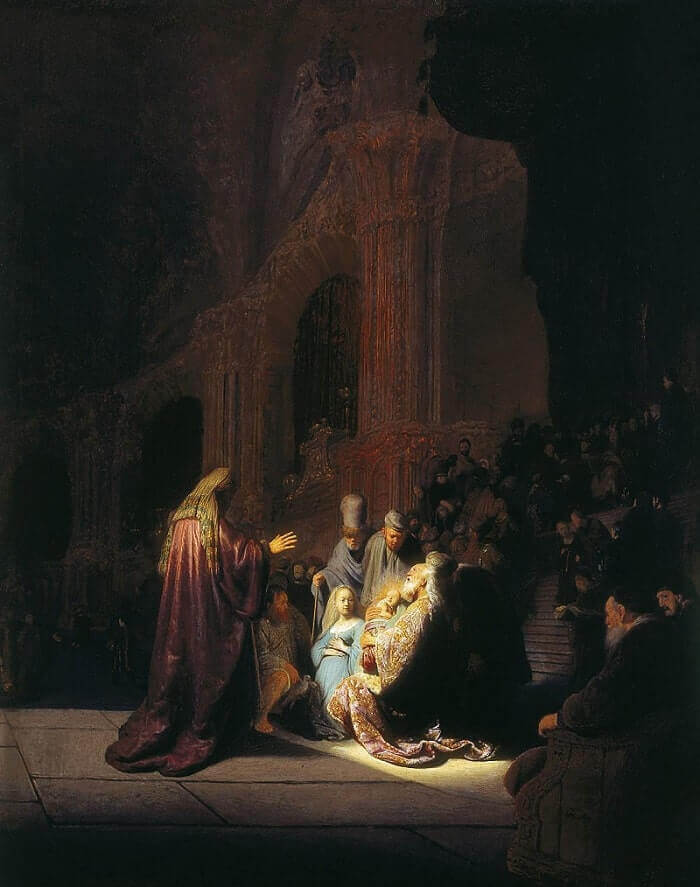 Presentation of Jesus in the Temple, 1631 by Rembrandt