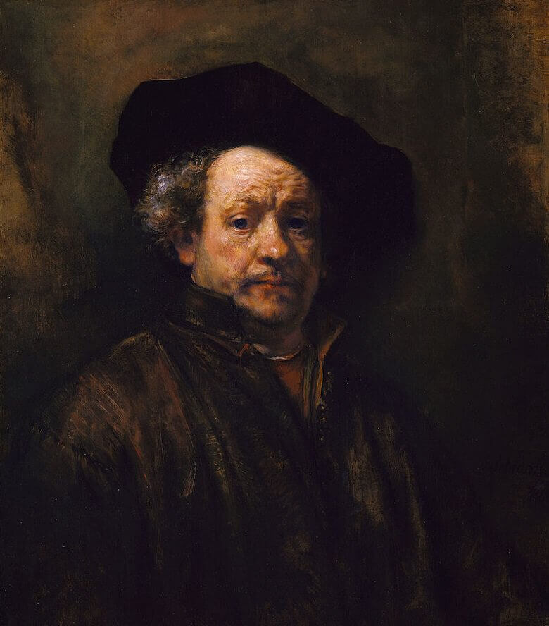 Self-Portrait, 1660 by Rembrandt