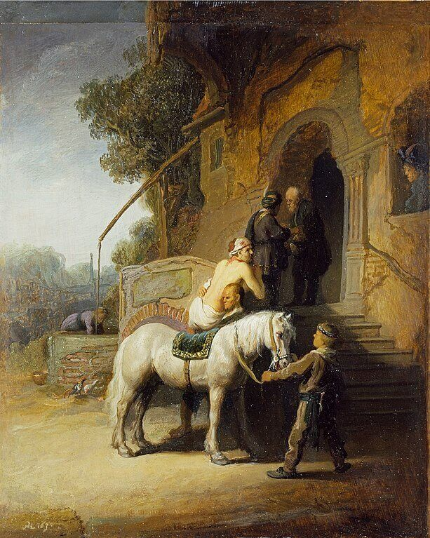The Good Samaritan, 1633 by Rembrandt