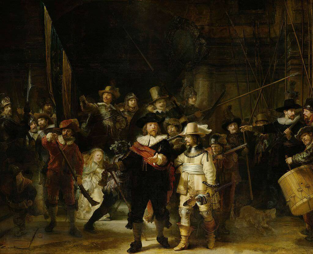 The Night Watch, 1642 by Rembrandt