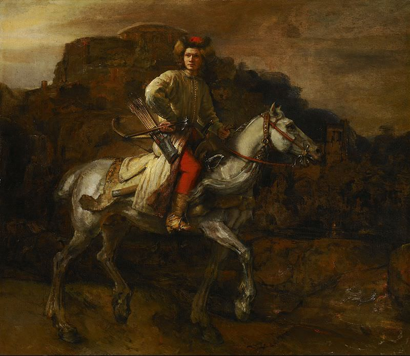 The Polish Rider by Rembrandt